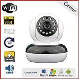 Kamera IP motorisiert Innen, WiFi, HD 960p, Lautsprecher, Micro und Standort Speicherkarte