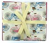 Stoff Freiheit Fahrräder Fat Quarter Paket, 100%