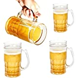 Kraft & Kulture/Beer Frosty Freezer Mugs Liquid Solid Glass Ice Mug For Beer Wine And All Other Soft And Hard Drinks