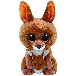 TY - Beanie Boos Kipper, canguro, 15 cm, color marrón (United Labels Ibérica 37226TY)