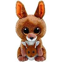 TY - Beanie Boos Kipper, peluche canguro, 15 cm, color marrón (United Labels Ibérica 37226TY) - Peluches y Puzzles precios baratos