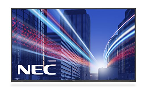 NEC MultiSync E585 - public displays (LED, 1920 x 1080 pixels, Full HD, Black, 4000:1, 1270 x 721 mm)