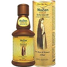 Nuzen Gold Herbal Hair Oil, 250ml