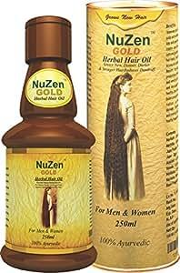 NuZen Gold Herbal Hair Oil 250ml