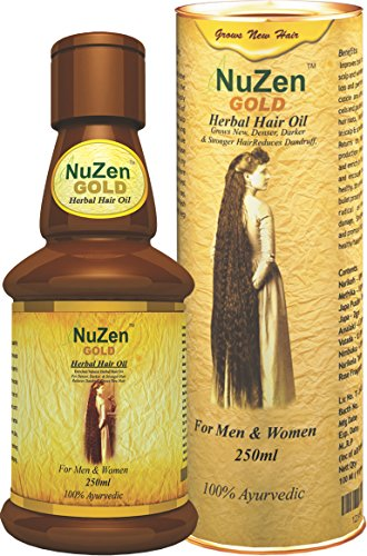 NuZen Gold Herbal Hair Oil 250ml