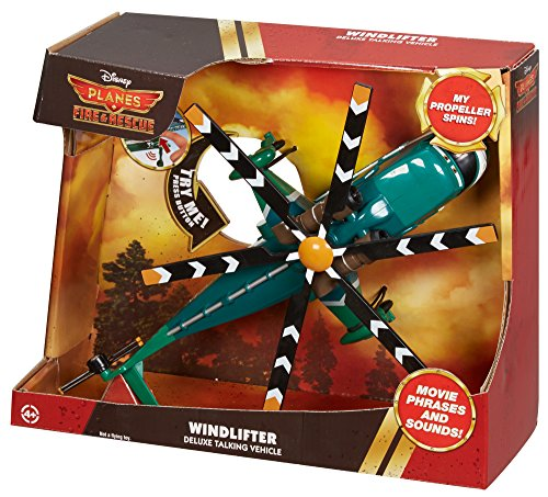 Mattel Disney Planes: Fire & Rescue Sound and Action Windlifter Vehicle