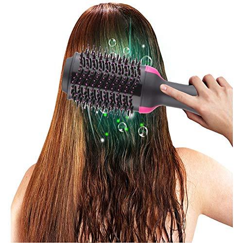 mluftbürste Negativer Ionenfön Lockenbürste Lockenwickler mit Haarspangen für alle,Europeanregulations ()