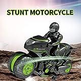 RC Stunt Car Moto 2.4Ghz 3D Rotating Drift Stunt Car Racing Moto Niños Motocicleta Control remoto eléctrico Boy Juguetes para niños