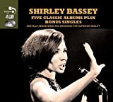 Five Classic Albums Plus Bonus Singles by Shirley Bassey