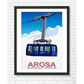 Arosa Ski Poster