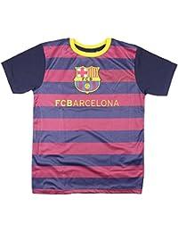 FC Barcelone - Maillot de foot FC Barcelone à rayures enfant - 8 ans,10 ans,12 ans,14 ans,11 ans,9 ans,13 ans