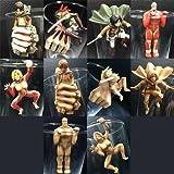 Attack on Titan Glas Of Titan Series Collectible Ochatomo Figurs (1 Random Blind Box)