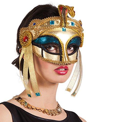 PARTY DISCOUNT Maske Venedig, Kleopatra, ()