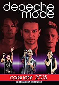 DEPECHE MODE 2015 LARGE WALL CALENDAR NEW AND SEALED BY DREAM