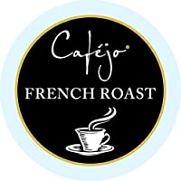 French Roast , 24 count : Cafejo K-Cups, French Roast Coffee, 24 Count