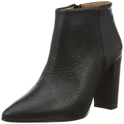 SELECTED FEMME Sfthora High Heel Boot, Chaussures Bateau Femme Noir - Noir