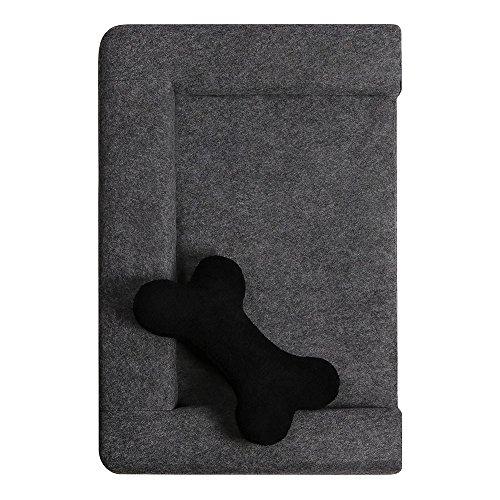 ANIMALY Haustierbett Hundebett Katzenbett SIMPLY weicher und stabiler Ruhe- und Schlafplatz für Hunde und Katzen, Hundesofa Hundecouch, antiallergisch, abnehmbarer Bezug waschmaschinengeeignet - 3