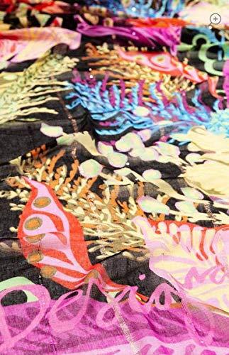 Desigual FLOWERSIN Bekleidung Accessoires Damen Mehrfarbig - Einheitsgrösse - Schal