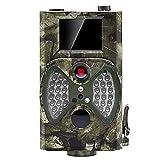 distianert [Upgraded] Wildkamera Fotofalle 1080P Full HD 12MP Jagdkamera Infrarote 65 ft Nachtsicht 36 PC 's 940 nm IR LED