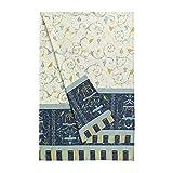 Bassetti OPLONTIS Granfoulard, Baumwolle, Blau, 180 x 270 x 1 cm in