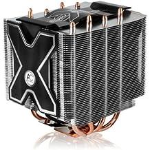 ARCTIC Freezer XTREME Rev. 2 - Refrigerador del procesador para usuarios intensivos, compatible con Intel zócalo: 1366 / 1150 (Haswell) / 1155 / 1156 / 775 y AMD zócalo: FM2+ / FM2 / FM1 / AM3 / AM3+ / AM2 / AMD 2+ / 939 / 754 - hasta 160 vatios de potencia gracias a su ventilador PMW de 120