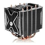 ARCTIC Freezer XTREME Rev.2 - computer cooling components (Processor, Radiator, Socket B (LGA 1366), Black, Silver, Aluminium & copper, 0.19 A)