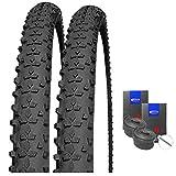 Impac Set: 2 x Smartpac MTB Allround Reifen 29x2.25/57-622 + Schwalbe Schläuche Autoventil