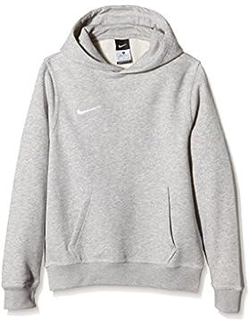 Nike Yth Team Club Hoody, Sudadera con capucha para niño, Gris (Grey Heather/Football White), S (128-137)