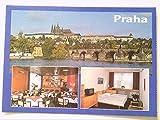 AK. Hotel ' Dum Praha '. Tschechien. Mehrbildkarte mit 3 Abb.
