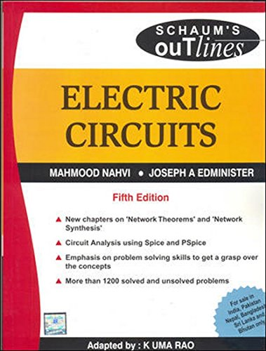 Electric Circuits, (Schaum's Outline Series)