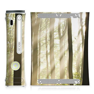 Microsoft Xbox 360 habillages autocollants skin DesignSkins - In the forest