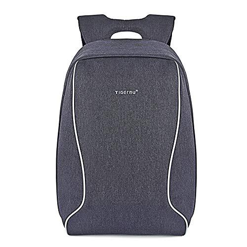 "[Notebook-Rucksack] Anti-Diebstahl Business Backpack Tigernu schwarz-grau 43 cm x 29 cm x 14 cm, 17\"", Robustes Oxford Gewebe"