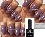 Bluesky D76 Move Over Mauve Nagellack-Gel 10 ml plus 2 Glanztücher