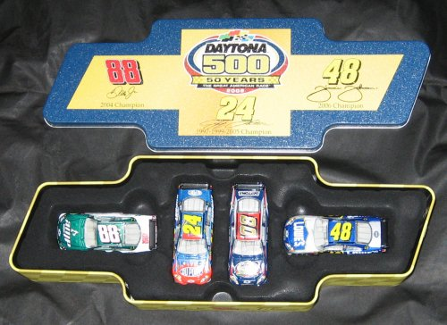 nascar-winners-circle-daytona-500-50-years-commemorative-four-car-set
