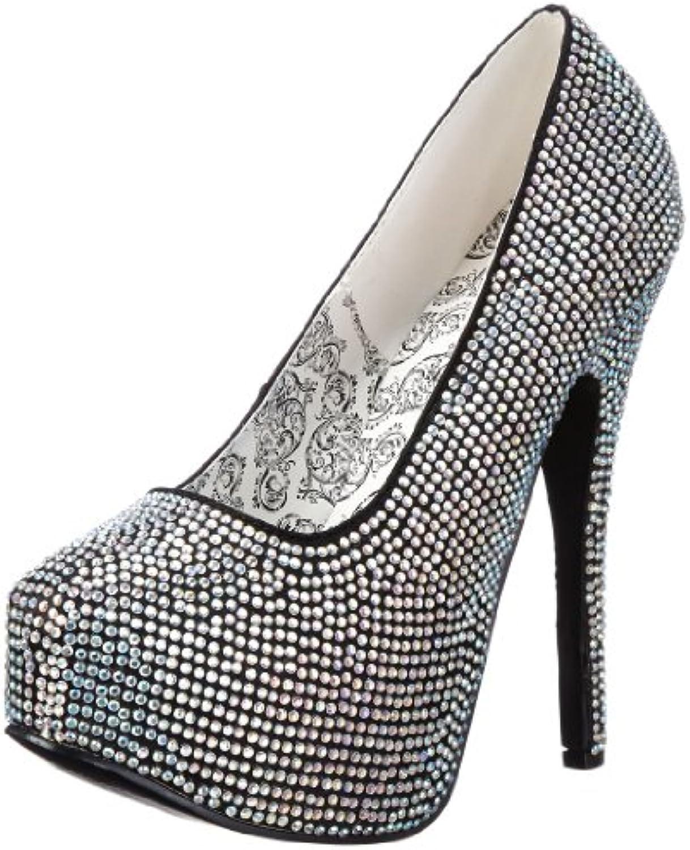 Pleaser Eu-Tee06R/Iri - Zapatos de tacón para mujer -