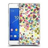 Head Case Designs Offizielle Ninola Punkte Wasserfarben Soft Gel Hülle für Sony Xperia Z3