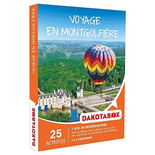 DAKOTABOX - Coffret Cadeau - VOYAGE EN MONTGOLFIÈRE - Vols au-dessus des Châteaux...