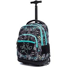 f775be0543e71 Kinder Trolley Rucksack Schul Rucksack - Kindergepäck Druckmuster  Reisegepäck 2 Räder Rolling Schulranzen Kinderkoffer Tasche für