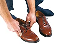 NRS Healthcare Elastic Shoe Laces - Pack of 3 Pairs, Brown