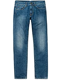 CARHARTT WIP - Jean - Homme - Jeans Tapered Fit Vicious Madera Bleu Clair Délavé pour homme
