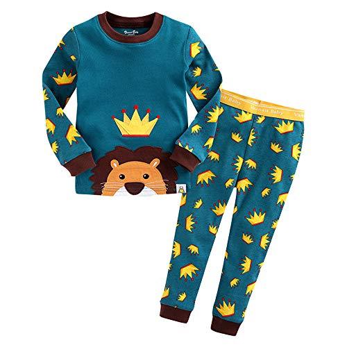 Fengbingl Pyjama en Coton à Manches Longues Home Service Suit Home Service (Couleur : Vert, Taille : S)