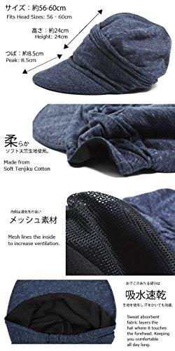 Casualbox pour Femme été Soleil chapeau lumière poids large Japonais conception Beige