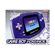 Nintendo Gameboy Advance Purple Console (GBA)