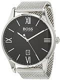 Hugo BOSS Unisex Analog Quarz Uhr mit Edelstahl Armband 1513601