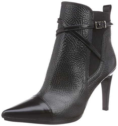 f3bf606a7862 Hispanitas VINCE Damen Kurzschaft Stiefel Schwarz (Antiq Black Reno Black)