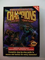 Eternal Champions - Sega Genesis Official Power Guide de Simon Hill
