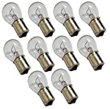 AERZETIX: Juego de 10 bombillas 12V P21W BA15S para auto vehículos