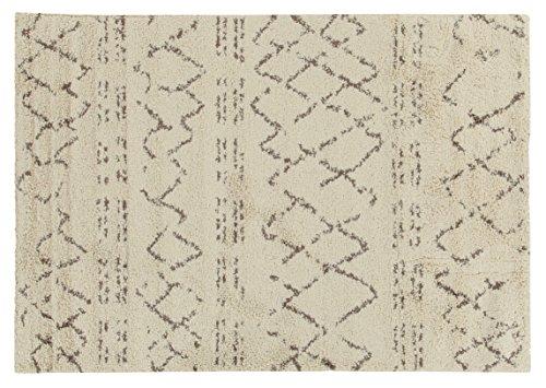 Viva Berber Tappeto, Materiale Sintetico, Crema, 160x230x3.68 cm