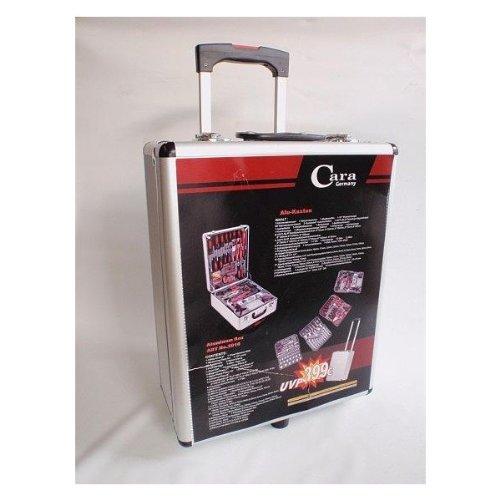 Preisvergleich Produktbild 186 Tlg. Werkzeugkoffer Alu Kofferset Trolley