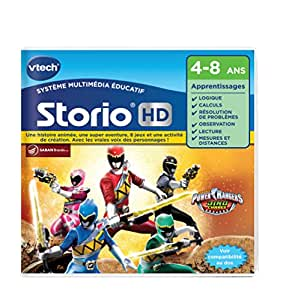 Vtech - 275005 - Jeu Hd Storio - Power Rangers